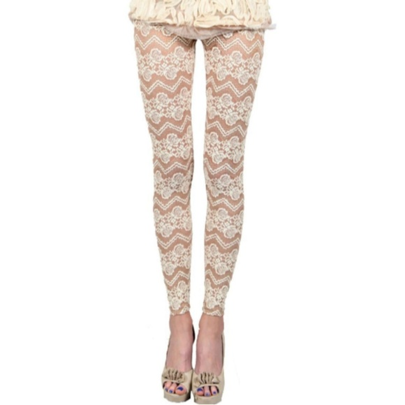 Ryu Pants - Stretch Lace Leggings
